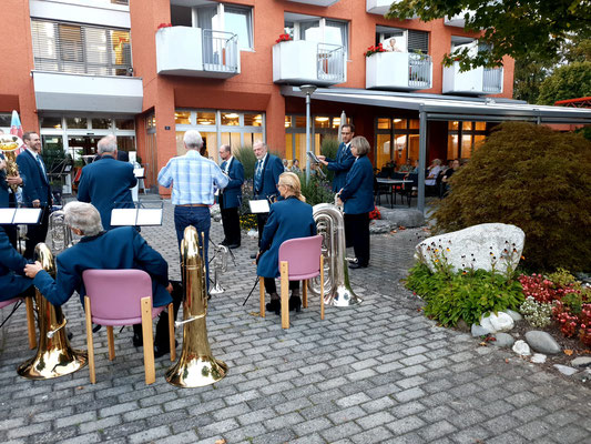 Ständchen Altersheim  Kölliken 16. September 2020