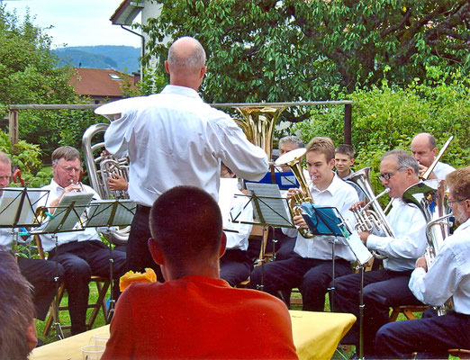 Privatkonzert am Malerrain 6, Kölliken, 6. August 2005