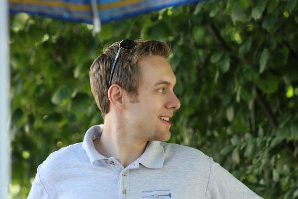 Matthias Zeltner; Bundesfeier 1. August 2013 beim Strohdachhaus Kölliken