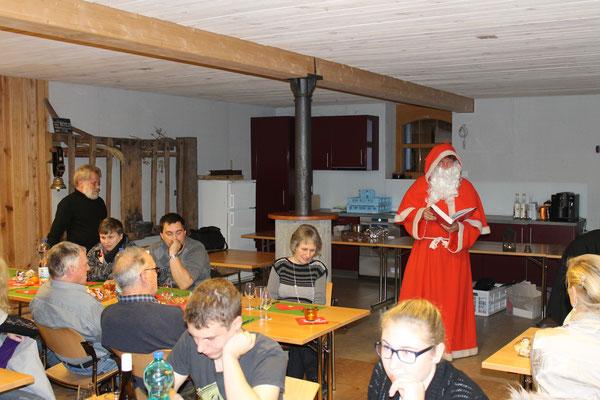 Lui Huber, Sankt Nikolaus Lorenz Halder; MGK Jahresschlusshock 05.12.2015 Matte Holziken
