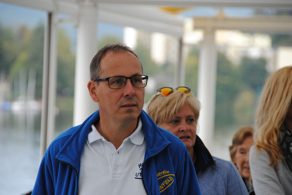 Ausflug mit dem MVU 22. September 2019; Schifffahrt auf dem Schluchsee; Rolf und Silvia Wetzel