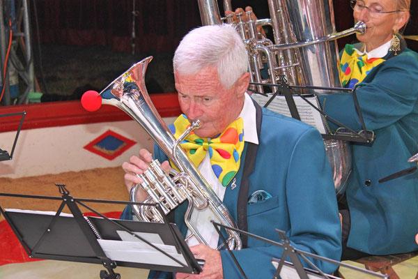 Max Hächler; Auftritt im Zirkus Stey Dorfplatz Kölliken am 17. August 2018
