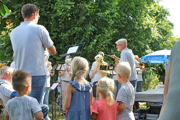 Bundesfeier beim Kölliker Strohdachhaus 1. August 2018