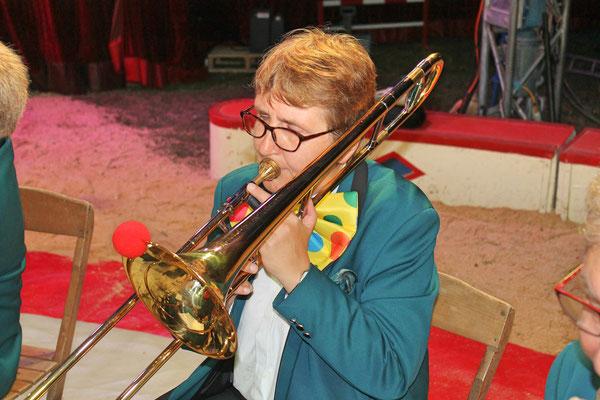 Johanna Foltrauer; Auftritt im Zirkus Stey Dorfplatz Kölliken am 17. August 2018