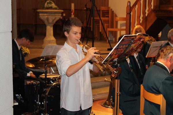 Jens Arnold (Jungmusikant); Kirchenkonzert 4. November 2012 reformierte Kirche Kölliken
