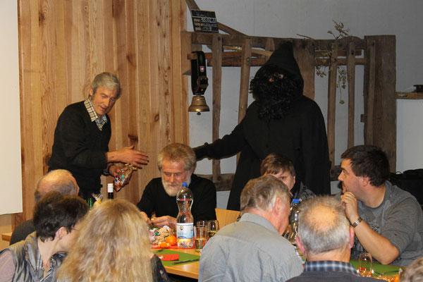 Sepp Ottiger, Schmutzli Sämi Wälty; Jahresschlusshock 5. Dezember 2015 Matte Holziken