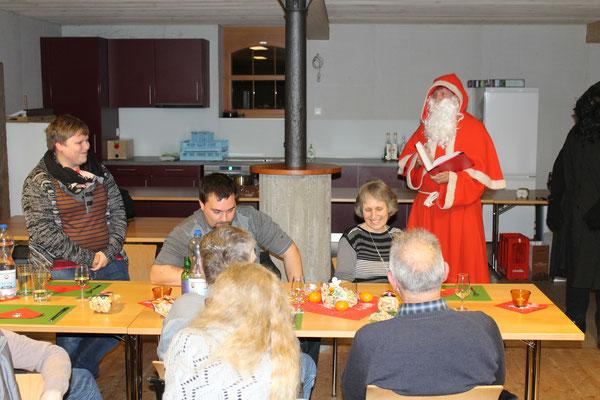 Claudia Widmer, Sankt Nikolaus Lorenz Halder; Jahresschlusshock 5. Dezember 2015 Matte Holziken