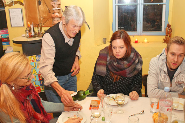 Jahresschlusshock 24. November 2018 in Aarburg; «Kellner» Sepp Ottiger