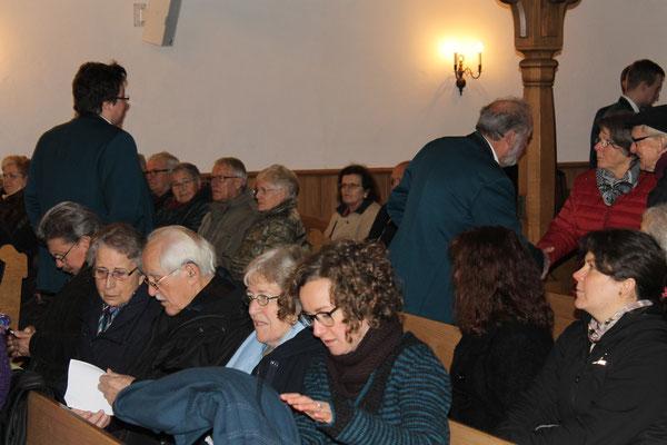 Adventskonzert 11. Dezember 2016 Reformierte Kirche Kölliken