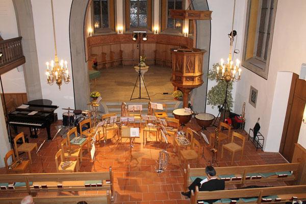 Kirchenkonzert 04. November 2012 reformierte Kirche Kölliken