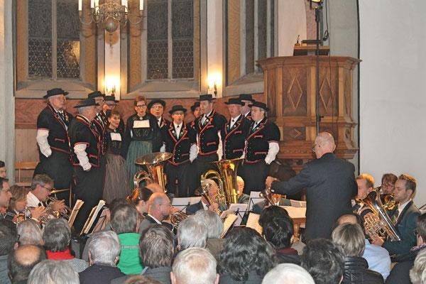 Kirchenkonzert mit dem Jodlerklub 9. Dezember 2018