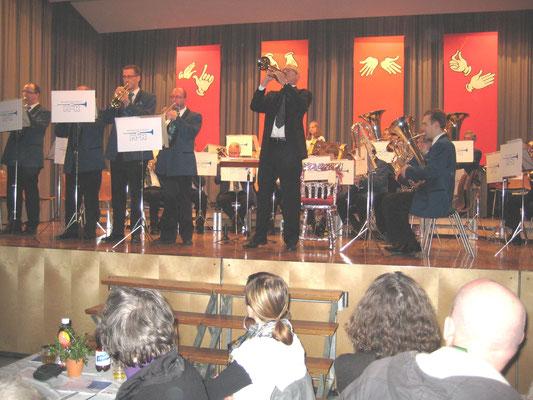 Jahreskonzert 27. März 2010; 25-Jahr-Jubiläum Hansjörg Ammann