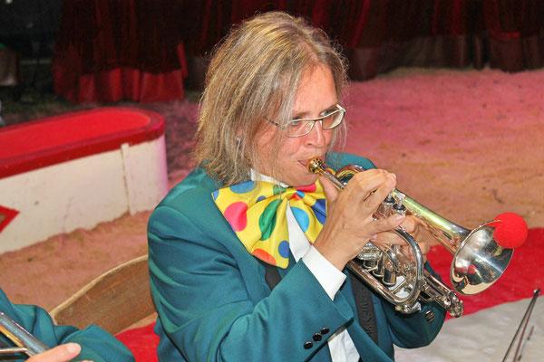 Jacqueline Erismann; Auftritt im Zirkus Stey Dorfplatz Kölliken am 17. August 2018