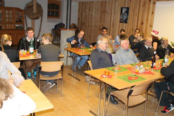 Jahresschlusshock 5. Dezember 2015 Matte Holziken