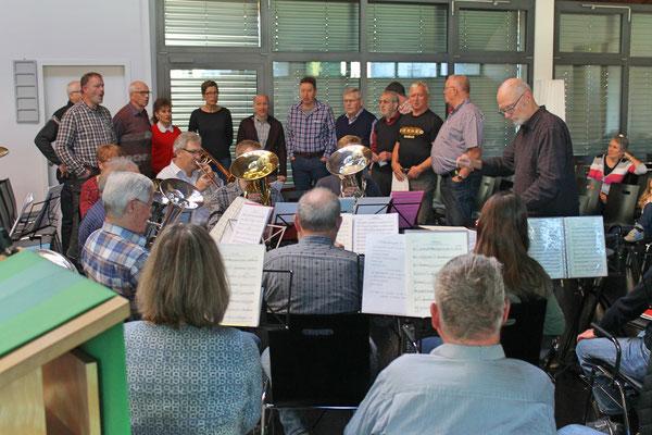 Probesamstag 24. November 2018 mit dem Jodlerklub Kölliken in der katholischen Kirche