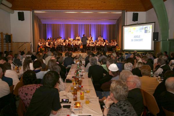 Jubiläumskonzert «125 Jahre MGK» 02.04.2016 MGK und MVU (D); Foto: Ruedi Hunziker, Atelier Lightning, Kölliken