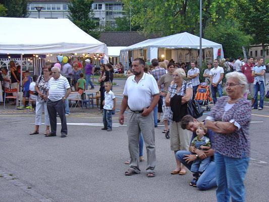 Beizlifest 3. September 2011 Ständchen beim Gemeindehaus