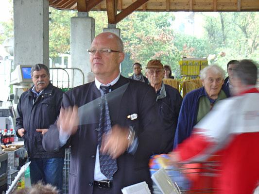 Hansjörg Ammann; Jubiläum Coop Birkenhof Kölliken am 16. Oktober 2010