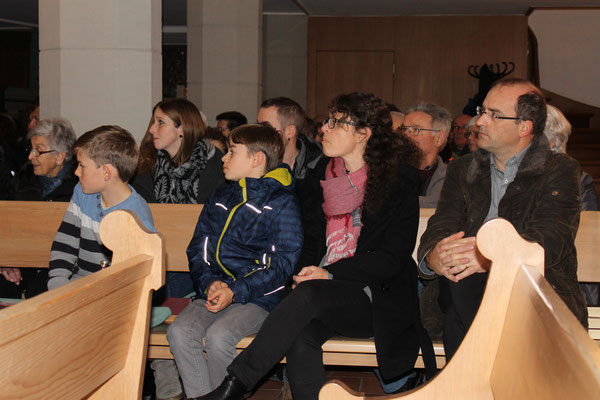 Familie Maibach; Adventskonzert 11. Dezember 2016 Reformierte Kirche Kölliken