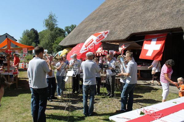 Bundesfeier 1. August 2012 Strohdachhaus Kölliken