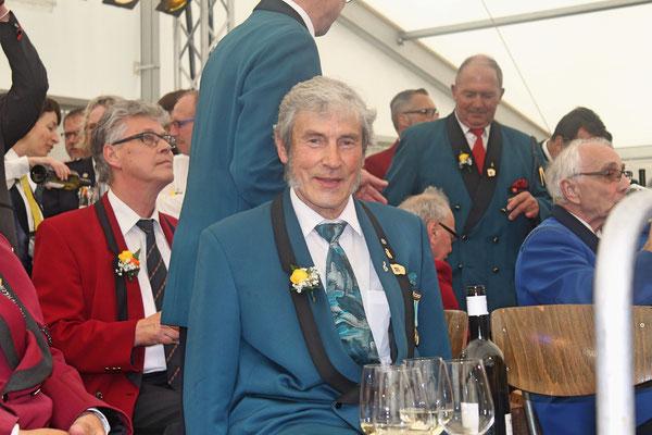 Sepp Ottiger, CISM-Veteran; Musiktag Hausen 22. Mai 2016
