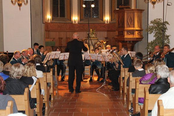 Kirchenkonzert 4. November 2012 reformierte Kirche Kölliken
