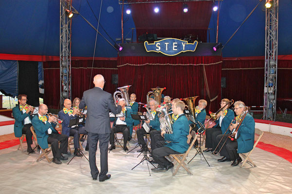 Auftritt im Zirkus Stey Dorfplatz Kölliken am 17. August 2018