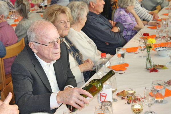 Geburtstagskonzert am 27. Oktober 2019 in der Arche Kölliken; Mundschenk Willi Hochuli