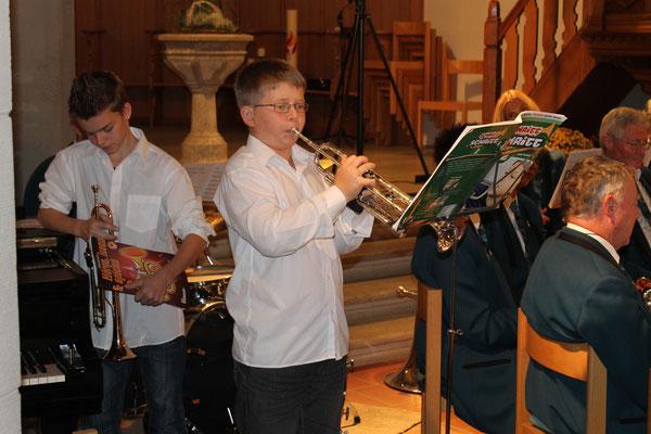 Roman Lüscher (Jungmusikant); Kirchenkonzert 4. November 2012 reformierte Kirche Kölliken