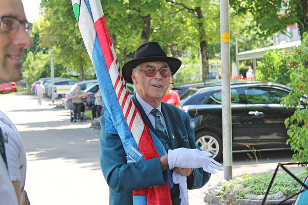 Empfang der Turner vom Eidg. Turnfest Bahnhof Kölliken 23. Juni 2019; Herbert Suter