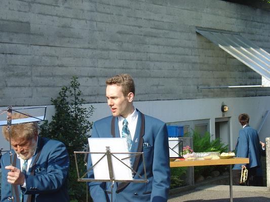 Lui Huber, Matthias Zeltner; Erstkommunion 1. Mai 2011 Katholische Kirche Kölliken