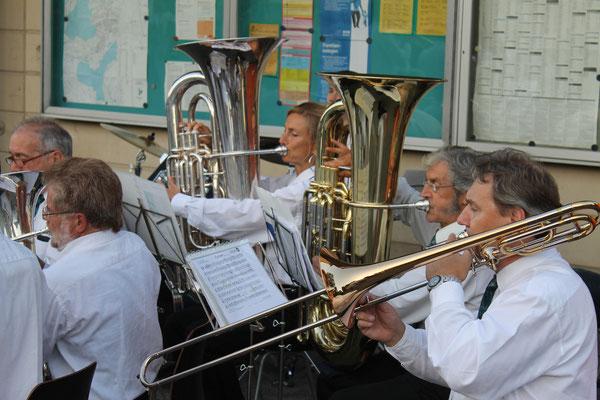 Beizlifest Kölliken 8. September 2012, Ständchen beim Gemeindehaus