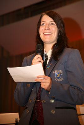 Festansprache von Felicitas Kaiser, MVU-Vorstand; Jubiläumskonzert «125 Jahre MGK» 02.04.2016 MGK und MVU (D); Foto: Ruedi Hunziker, Atelier Lightning, Kölliken