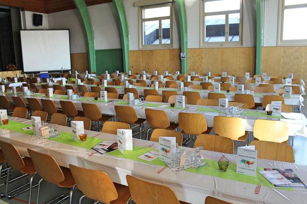 Jahreskonzert vom 23. März 2019 MZH Kölliken; 330 Plätze warten auf Besucher
