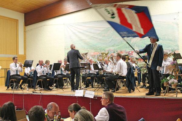 Blasmusikabend Utzenfeld (D) 28.04.2018; MGK dirigiert von Hansjörg Ammann