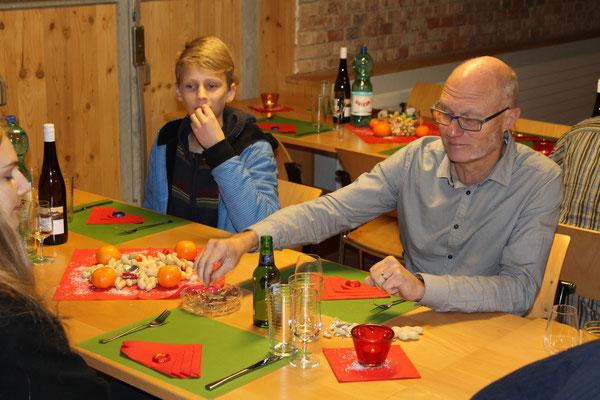 Valentin Ammann, Hansjörg Ammann; Jahresschlusshock 5. Dezember 2015 Matte Holziken