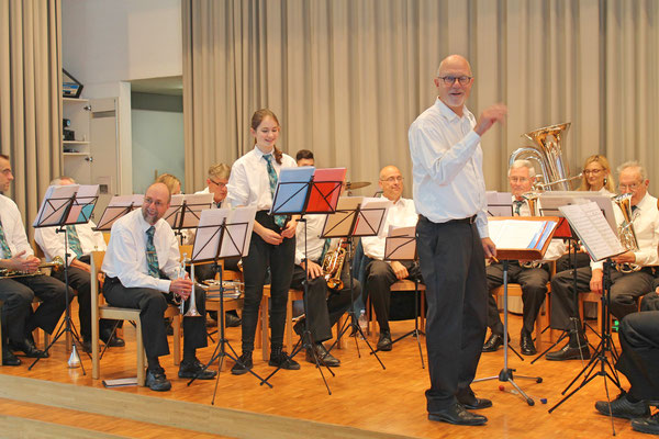 Geburtstagskonzert am 27. Oktober 2019 in der Arche Kölliken; Dirigent Hansjörg Ammann