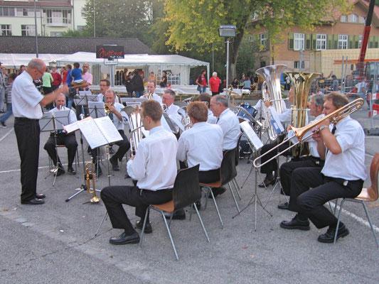 Beizlifest, Ständchen beim Gemeindehaus, 29. August 2008