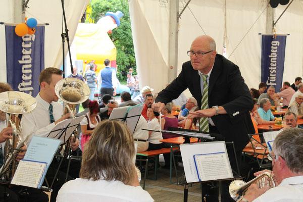 100-Jahr-Jubiläum des MV Utzenfeld 9. Juni 2013 in Utzenfeld (D)