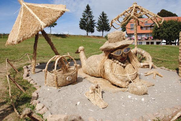 Ausflug mit dem MVU 22. September 2019; Strohskulpturenwettbewerb Höchenschwand