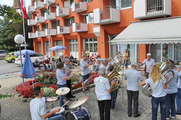 Ständchen am 11. August 2013 beim Kölliker Altersheim