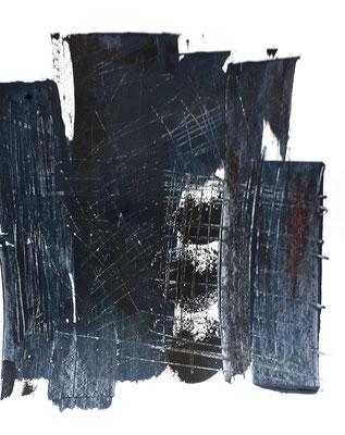 3 Monde II, Acryl auf Ppier 20x20cm cc christinastuckert