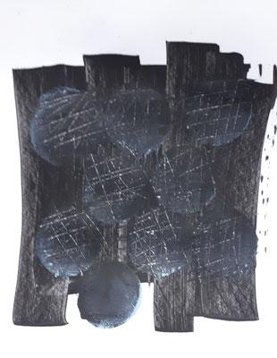 8 Monde, Acryl auf papier 20x20cm cc christinastuckert