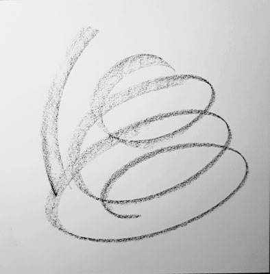 Gefühlsstenogramm I 20x20cm