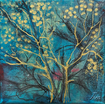 128 BLEU FORET 20X20CM DISPONIBLE