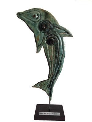 Trophée dauphins pour la ville de Pornichet