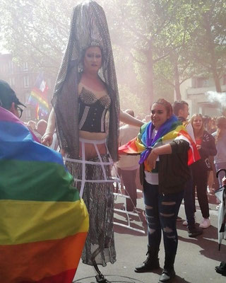 Photo : Evguenia Lesade avec l'aimable accord du Centre LGBTI de Normandie
