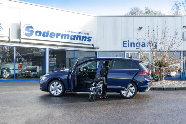 VW Golf 8 als Selbstfahrerumbau