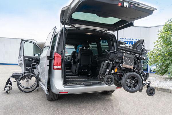 Mercedes-Benz V 200 CDI Selbstfahrerumbau
