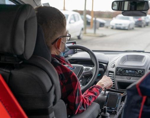 Behindertengerechter Ford Tourneo Connect Selbstfahrerumbau